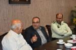 بازدید جناب آقای کبیری و جناب آقای عبدالهی از انجمن خیریه حضرت قمر بنی هاشم(ع)