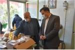 بازدید جناب آقای مهندس راعی فرماندار محترم نجف آباد از ستاد پشتیبانی انجمن خیریه حضرت قمر بنی هاشم(ع)