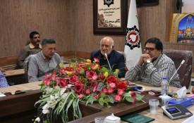 چهل و چهارمین جلسه خیرین انجمن خیریه آموزشی ،بهداشتی درمانی حضرت قمر بنی هاشم(ع) شهرستان نجف آباد