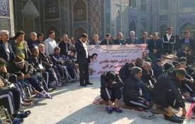 اعزام مددجویان مرکز توانبخشی شهید آیت اله صدوقی به مشهد مقدس