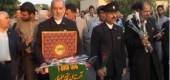 بازدید خادمان امام رضا (ع) از مرکز توانبخشی شهید آیت اله صدوقی امیرآباد