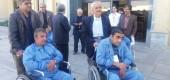اعزام تعدادی از مددجویان مرکز توانبخشی شهید آیت اله صدوقی به مشهد مقدس